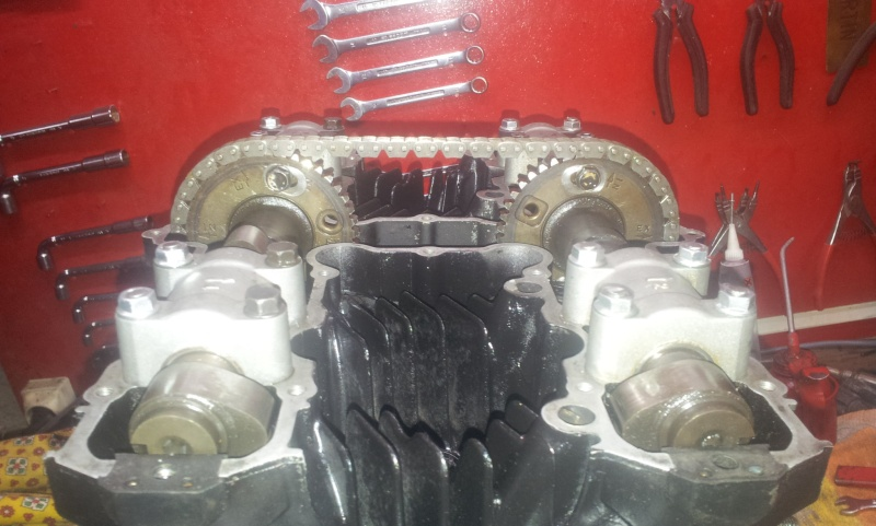 restauration et préparation GPZ 1100 B2 Eddie Lawson - Page 2 20140212