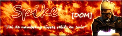 Fan art création signature Spike_10