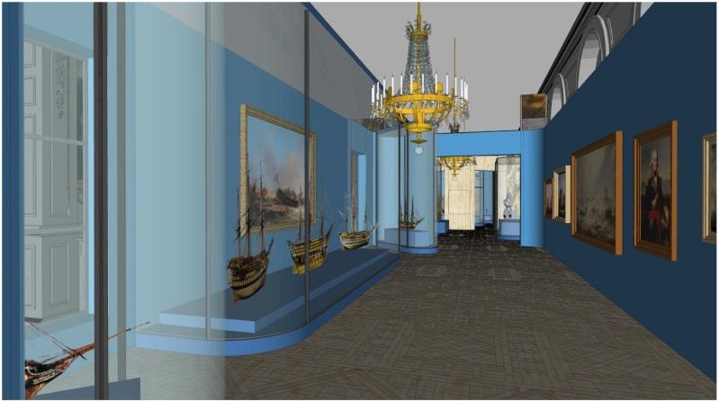 Maquettes de la Marine impériale, Grand Trianon, juin 2014 2014-012