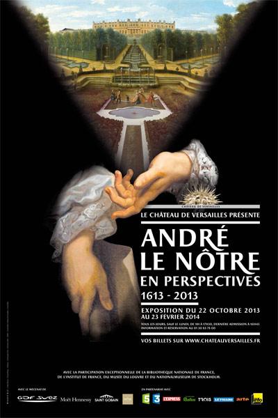 Exposition et Année André Le Nôtre à Versailles en 2013 D64bfc10