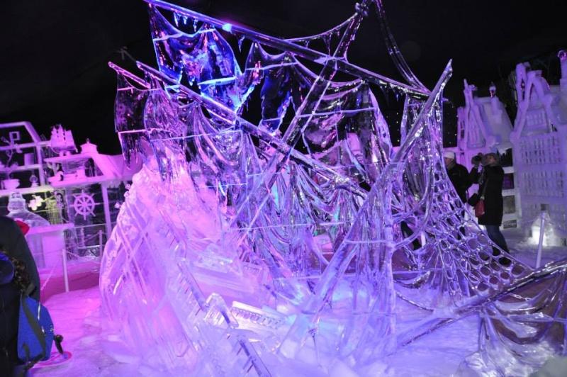 scuplture sur glaces disney bruges 2013 12312710