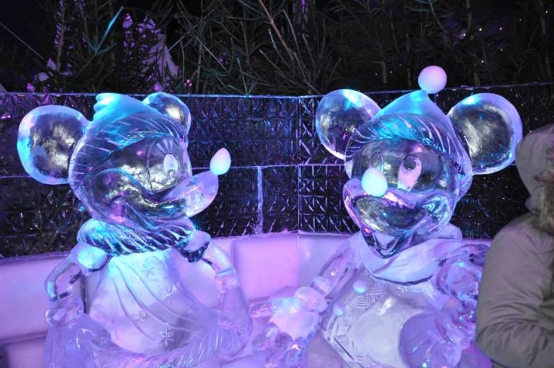 scuplture sur glaces disney bruges 2013 12350910