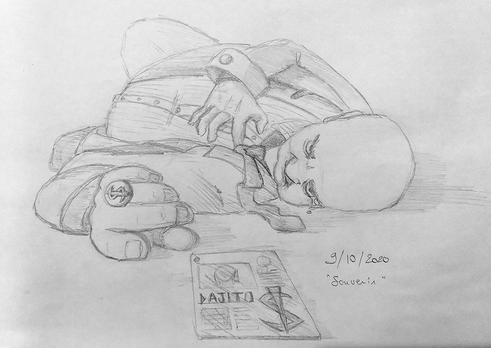 [EVENT] RPGDBZ Art Challenge — Octobre 2020. Inktob11