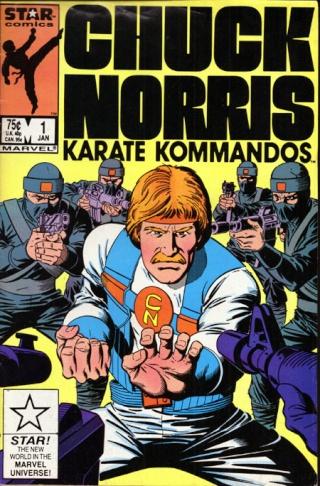 Dossier Chuck Norris - Karate Kommandos Comics10