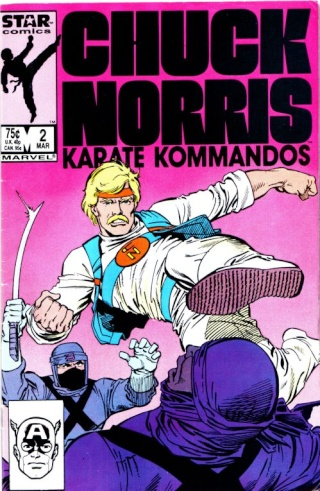 Dossier Chuck Norris - Karate Kommandos Comics13