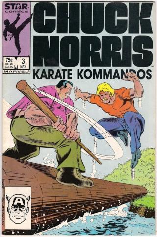 Dossier Chuck Norris - Karate Kommandos Comics14