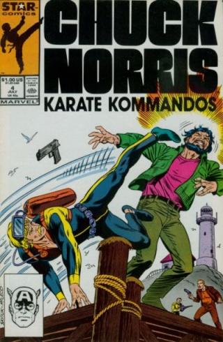 Dossier Chuck Norris - Karate Kommandos Comics15