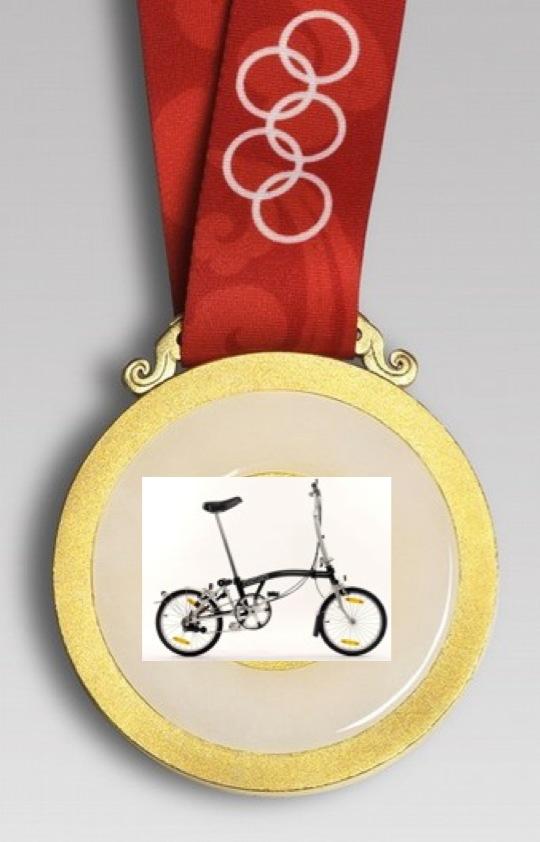 vélos pliants aux JO Medail10