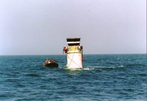 Récupération de booster en mer ... du vécu. Racupa10