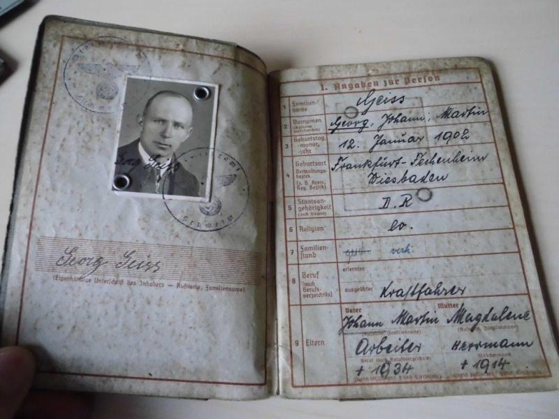 Wehrpass allemand - 1941 => 1945 Cimg3510