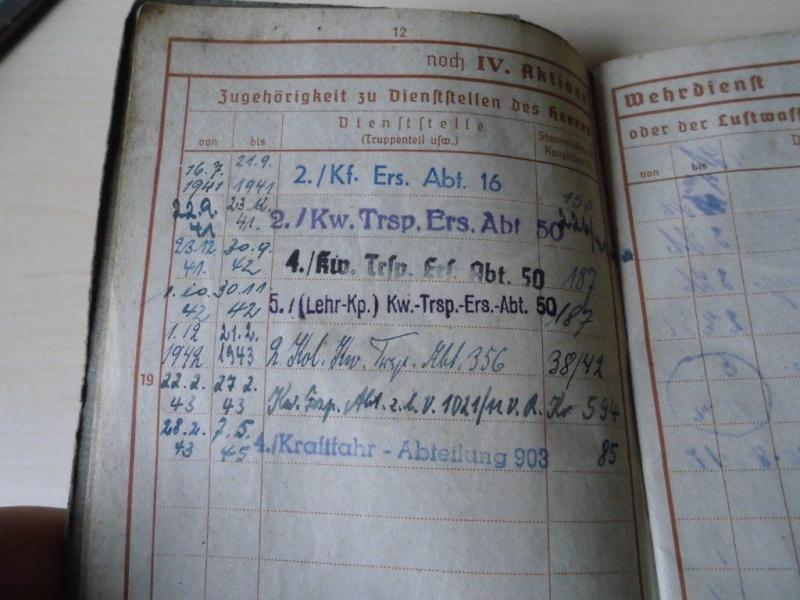 Wehrpass allemand - 1941 => 1945 Cimg3511