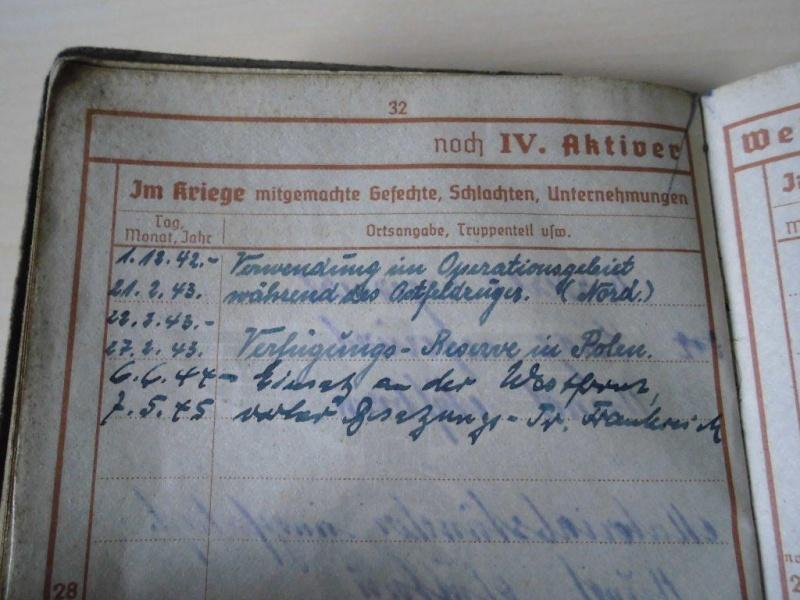 Wehrpass allemand - 1941 => 1945 Cimg3512