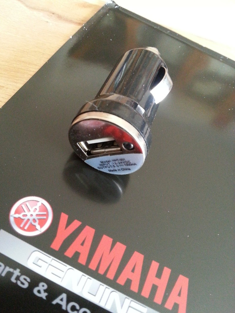 Infos sur la prise accessoire d'origine Yamaha 20140159