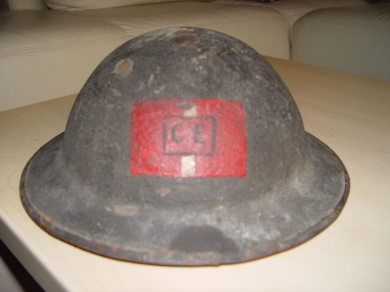 WW1 CEF helmets - Bourlonwood collection Dsc04510
