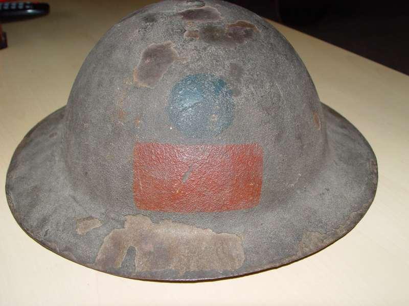 WW1 CEF helmets - Bourlonwood collection Dsc06310