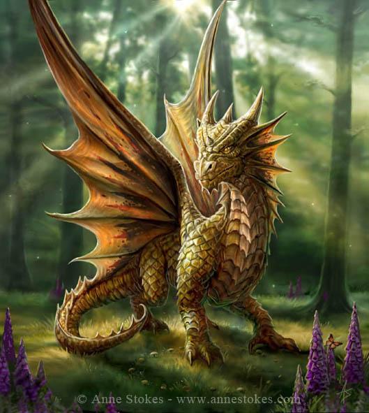 La source Blanche . Dragon10