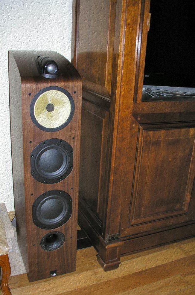 O meus 2 sistemas: Estéreo + Cinema em casa Bw703i10