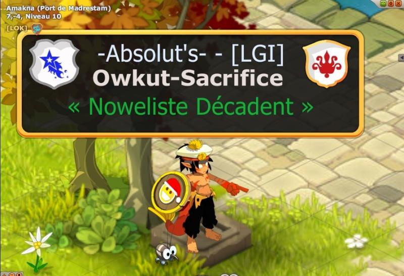 """Votre cher et unique """" Dieu """"  : Owkut Sacri10"""