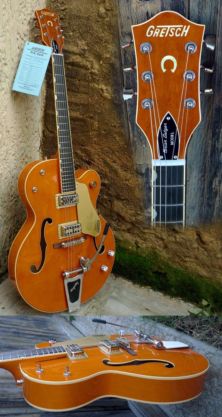 Gretsch 6120-SSLVO (test/review) 6120-s11