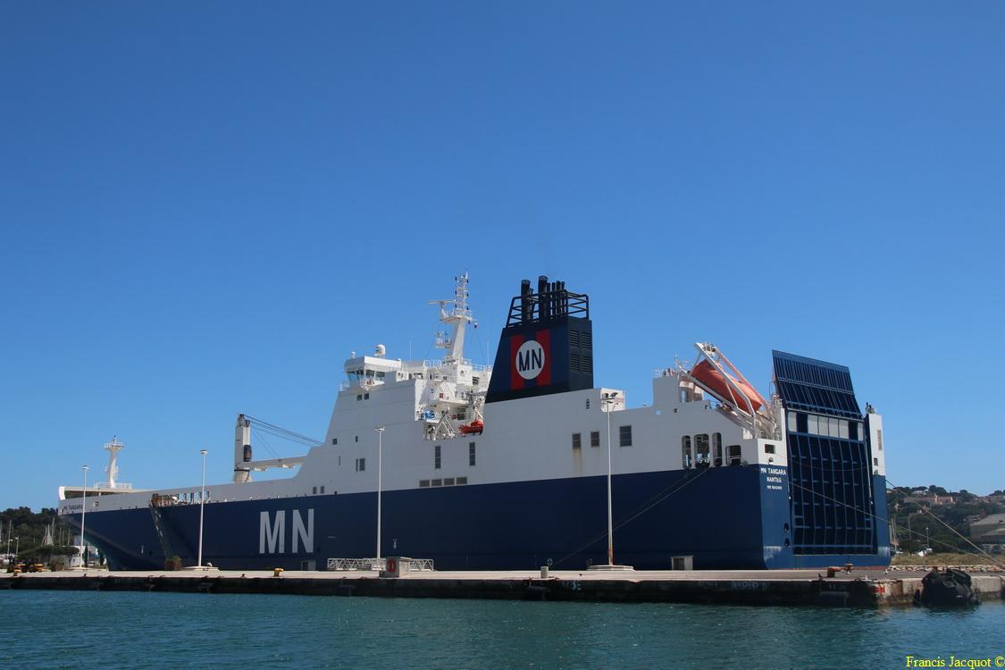 Le navire MN TANGARA 1318