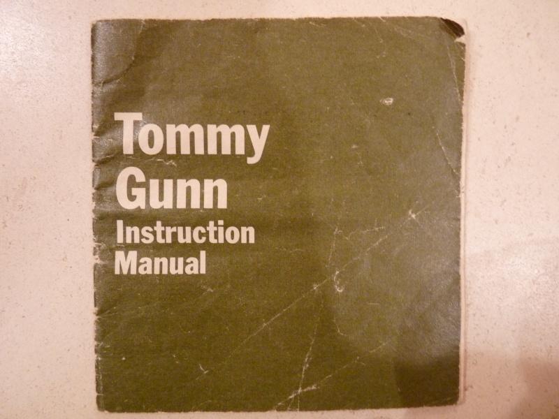 Tommy Gunn Paperwork P1070826