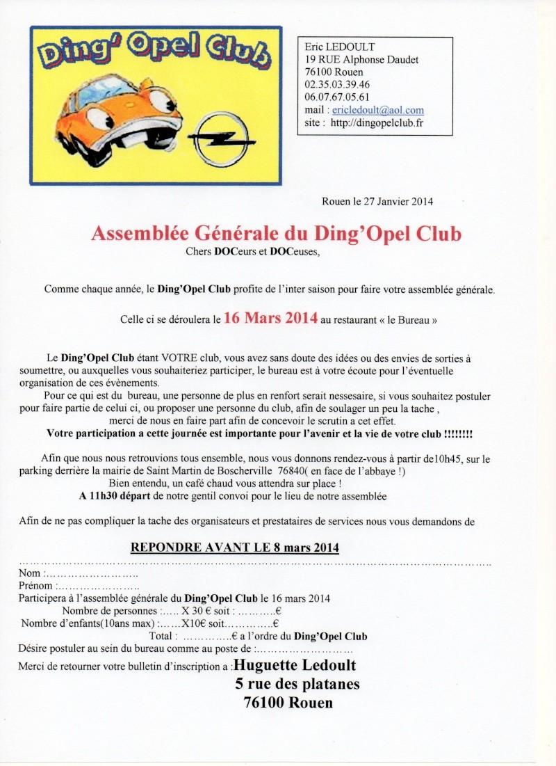 assemblée générale du DOC le 16 Mars 2014 Inscri10