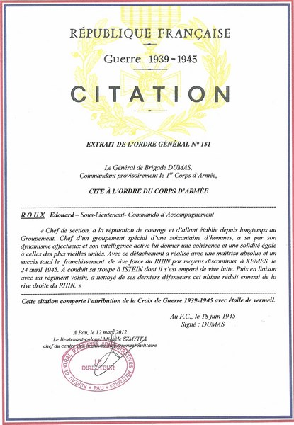 citations a/c Roux 39/45 Citati18