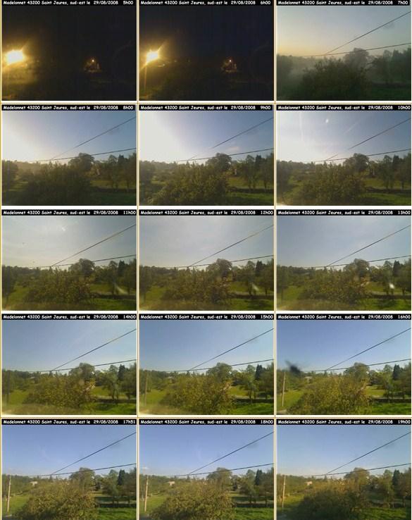 Le temps à Madelonnet du mois d'Août 2008 - Page 4 5h-19h10