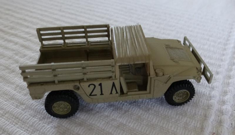 HMMWV (Hummer) 1/72 Revell et Dragon Humvee10