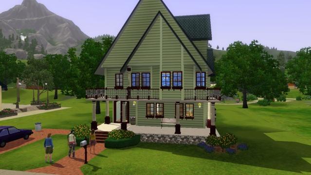 [Sims3]-Débutant- Atelier construction moderne.  Screen41