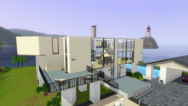 [Sims3]-Débutant- Atelier construction moderne.  Screen42