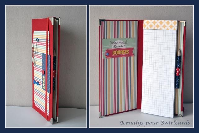 """Challenge """"Petits carnets""""-gagnante Nanie bravo Sneak10"""
