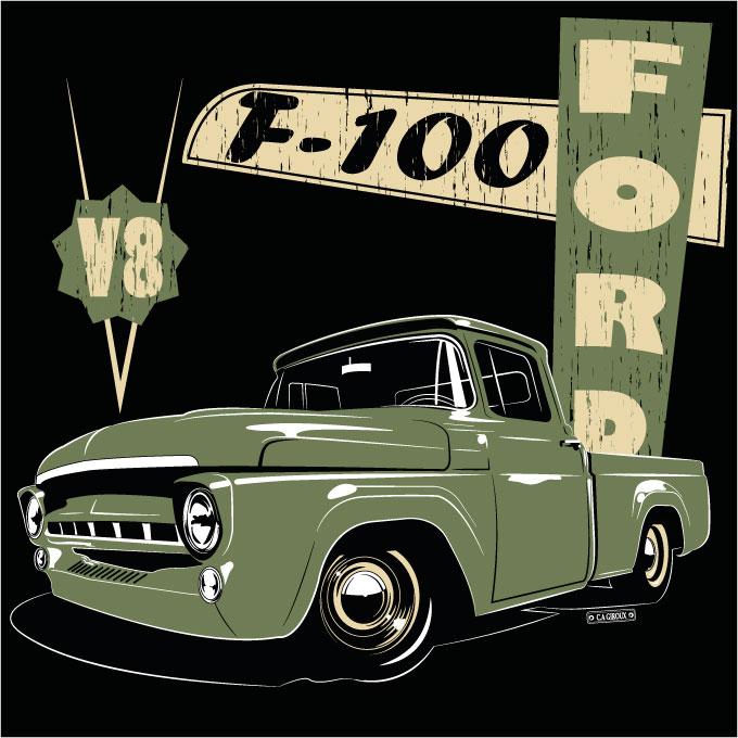 Airbrush, Illustration, T-Shirt... F100v810