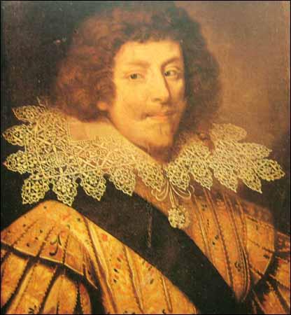 Document rare époque Louis XIII. Henrid10