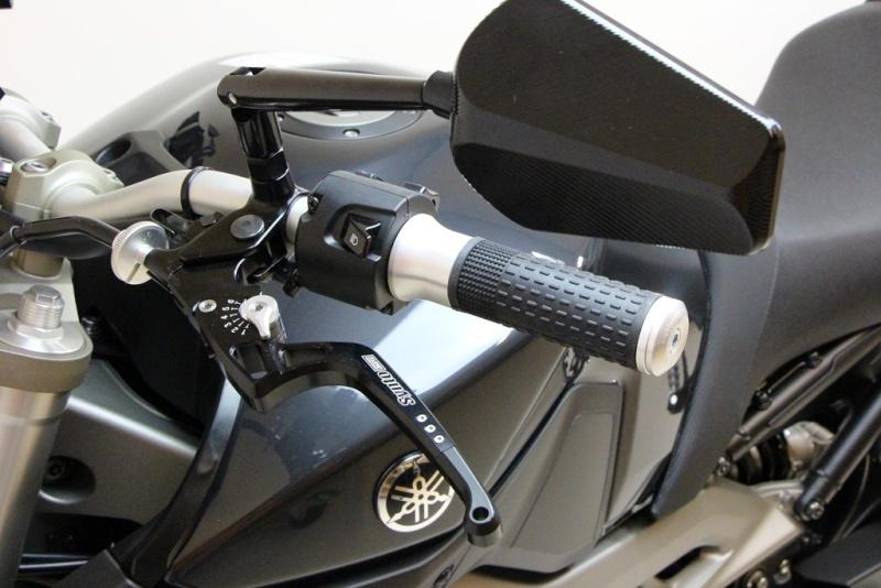 Rétroviseurs Highsider Prato pour motos carénées - Tech2Roo