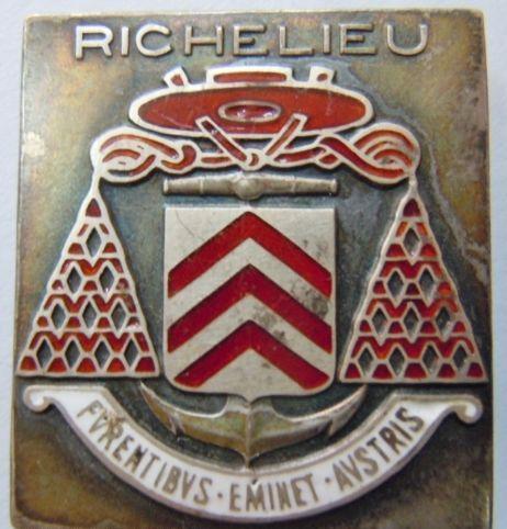 insignes du Richelieu Kgrhqv10