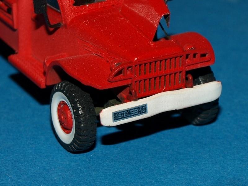 Dodge WC54 pompiers [academy] 1/72 P1012012