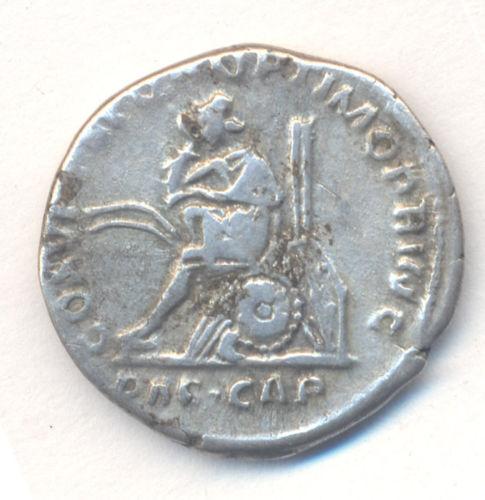 Denier Trajan, Dacia Capta T2ec1610