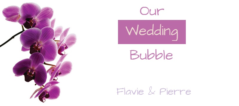 Our Wedding Bubble