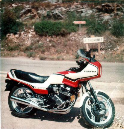 Votre moto avant la MT-09 Cbx55010