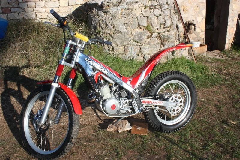 Votre moto avant la MT-09 Gasgas10
