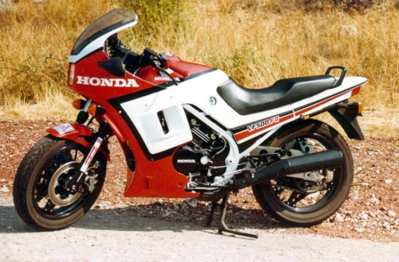 Votre moto avant la MT-09 Vf500f10