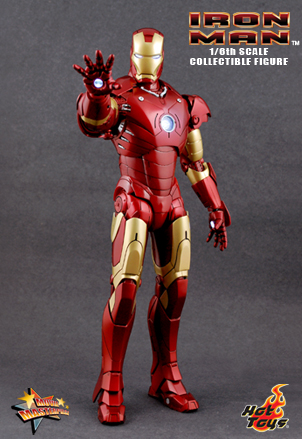 IRON MAN - 12 inches MARK III collectible figure 3811_d10