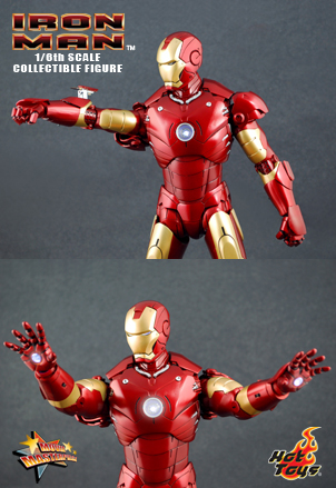 IRON MAN - 12 inches MARK III collectible figure 3818_d10