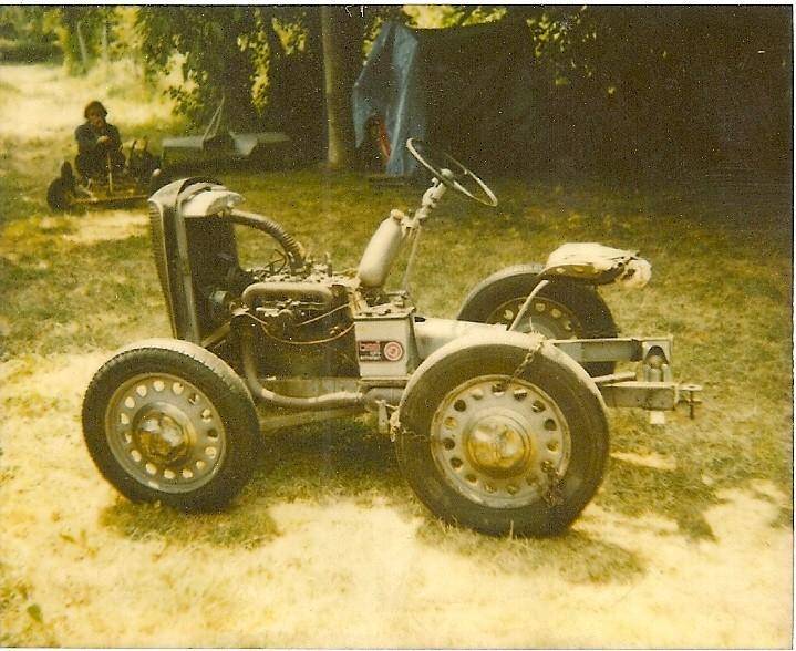 Mini-Tracteur à moteur de 2cv Numari18