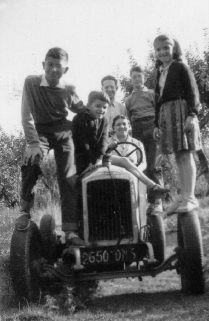 Mini-Tracteur à moteur de 2cv Tracte10