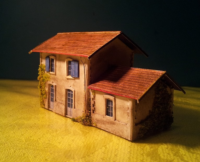 Mon premier bâtiment...  Maison11