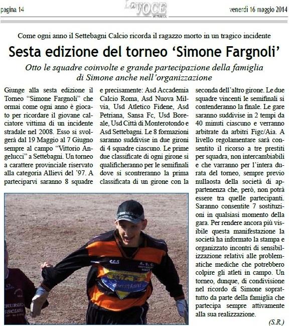 RICORDANDO SIMONE FARGNOLI - Pagina 3 Fargno11