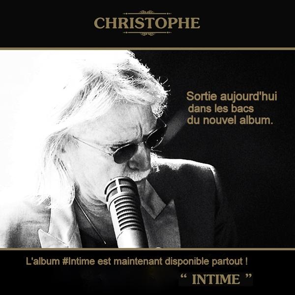 L'album #Intime est maintenant disponible partout ! Cocccc10