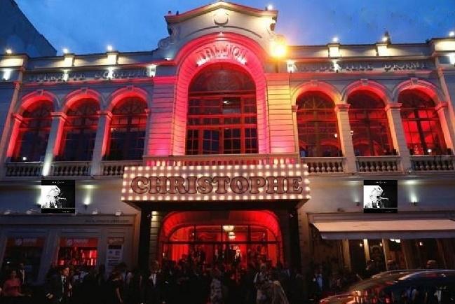Christophe investira la scène du Trianon de Paris  Nouvea32